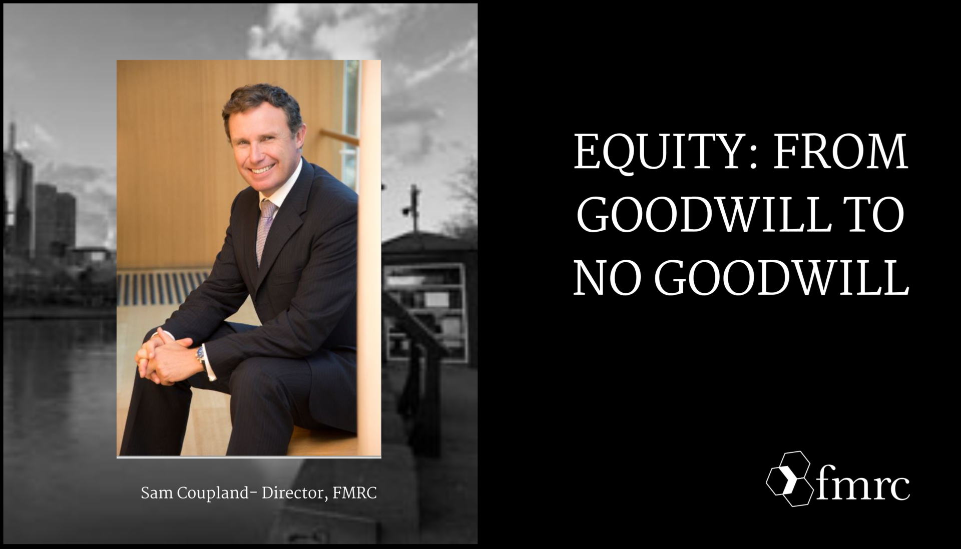 Equity: From Goodwill to no Goodwill