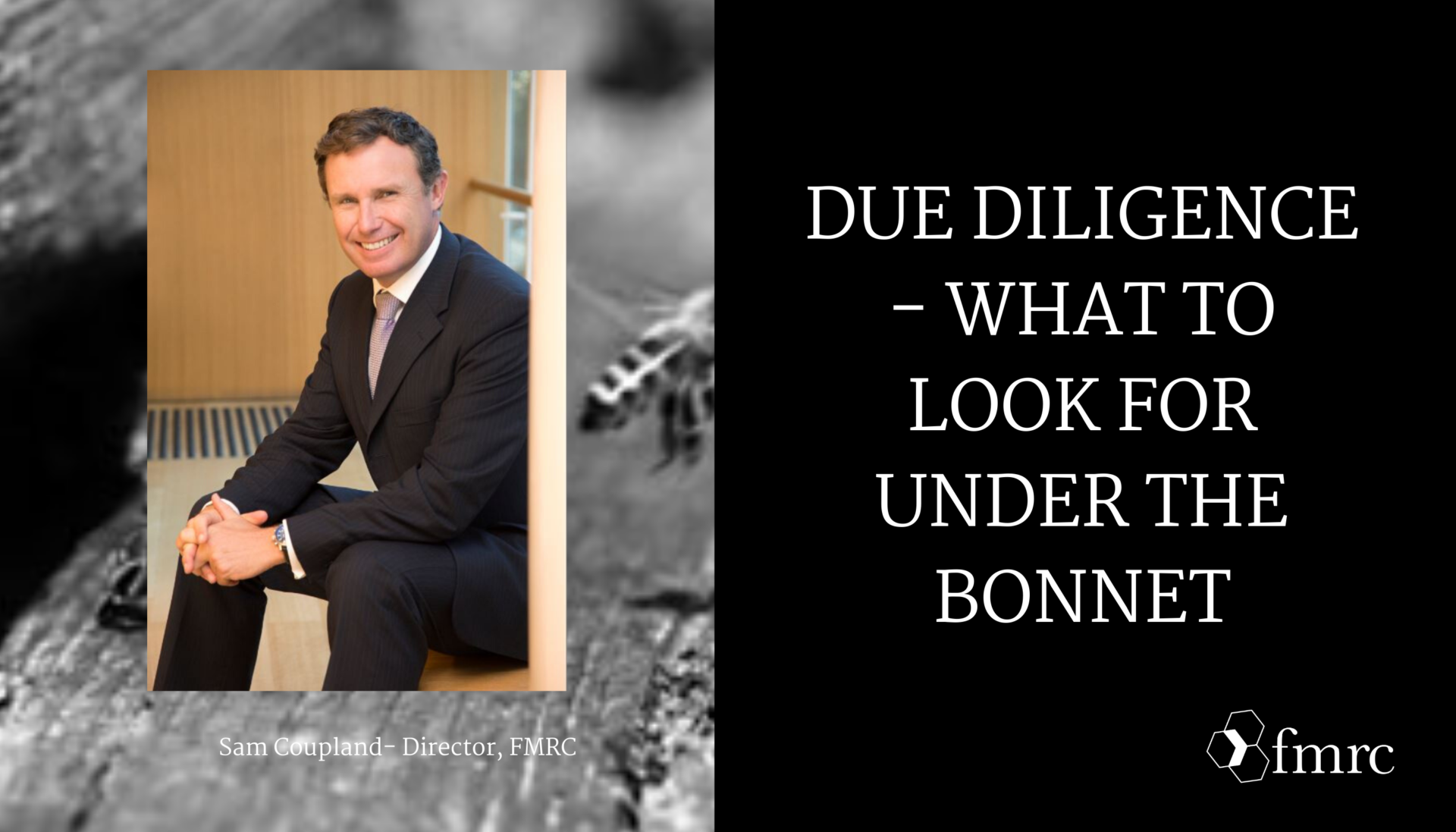 Due Diligence – What to Look for Under the Bonnet